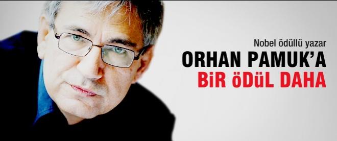 Orhan Pamuk en önemli ödülü kaptı
