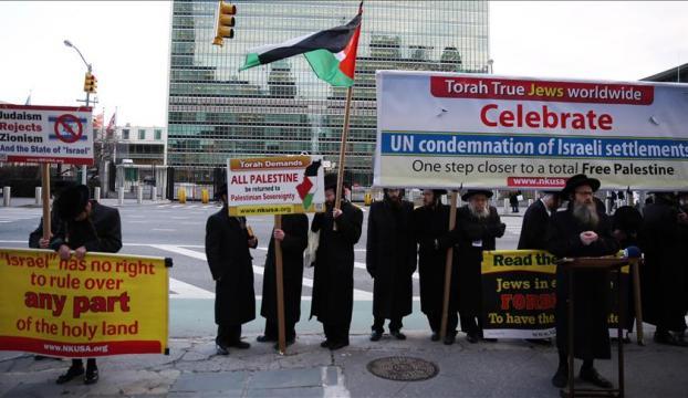 Ortodoks Yahudileri BMGKnın İsrail kararını kutladı