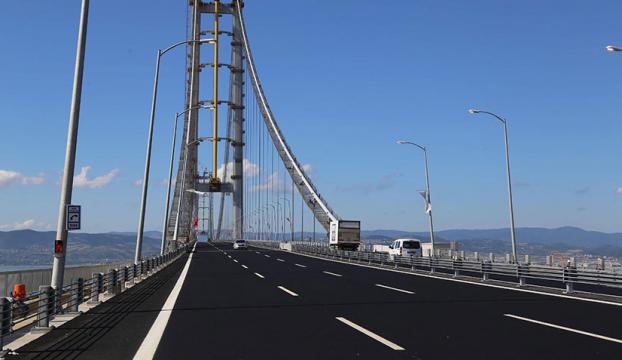 Osman Gazi Köprüsünün geçiş ücreti düşürüldü
