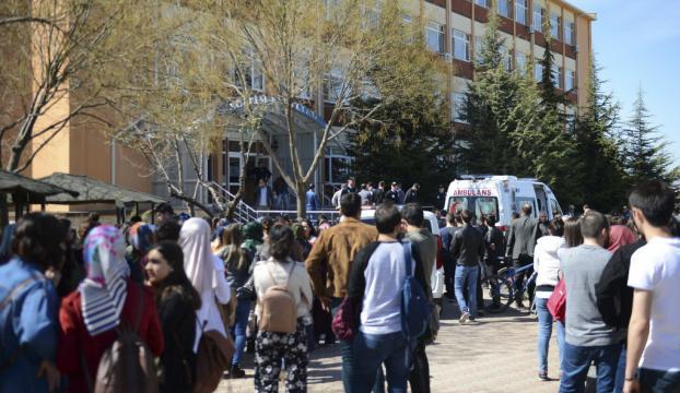 Osmangazi Üniversitesindeki saldırgan 23 el ateş etmiş