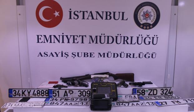 İstanbulda oto hırsızlığı operasyonu