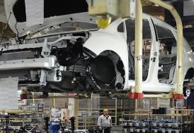 İngiltere'de nisanda sadece 197 otomobil üretildi