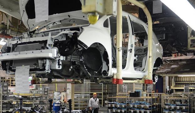 İngilterede nisanda sadece 197 otomobil üretildi