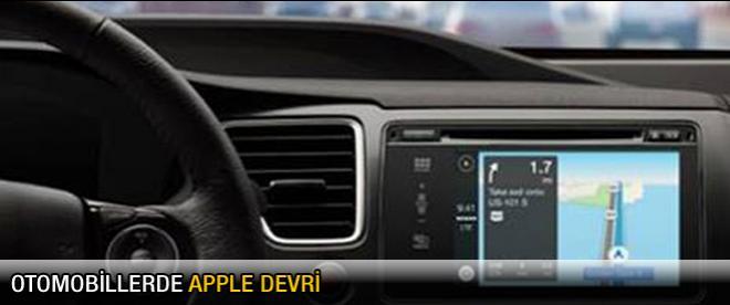 Otomobillerde Apple devri