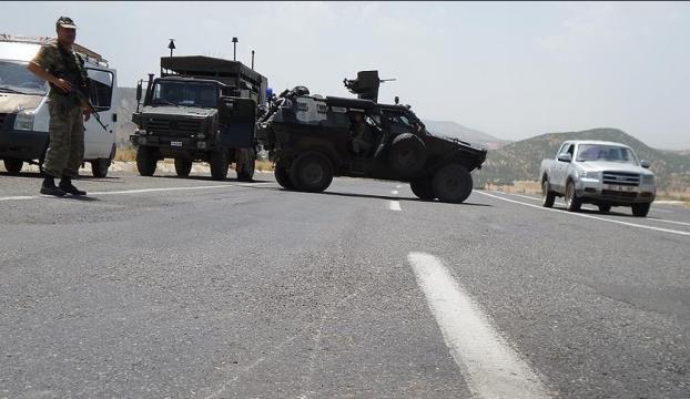 """Elazığda """"geçici askeri güvenlik bölgesi"""" uygulaması"""