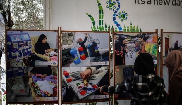 Gazzenin başarılı kadınları fotoğraf sergisiyle tanıtıldı