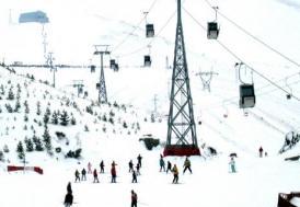 Sömestrde kayak merkezlerine yoğun ilgi