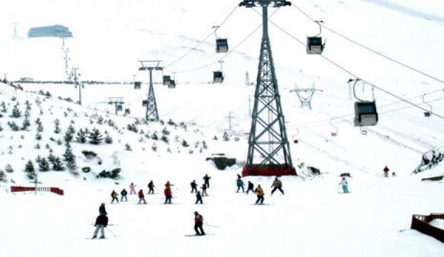 Palandökende kayak sezonu açıldı