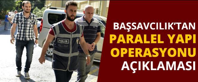 """""""Paralel yapı"""" operasyonunda 39 gözaltı talimatı"""