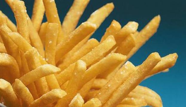 Patates kızartılan yağa eklenen madde saç kökünü artırıyor