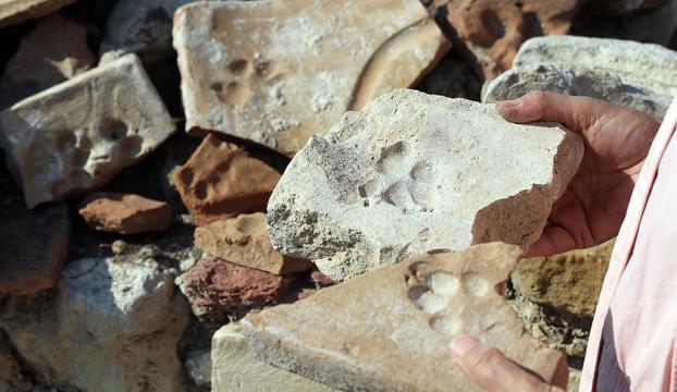 Tarihi Kadıkalesinde 8 asırlık pati izleri