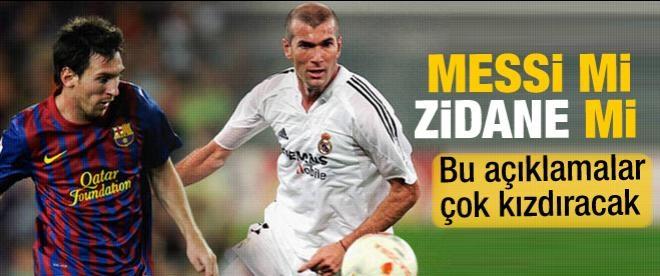 """Pele'den """"Messi-Zidane"""" karşılaştırması"""