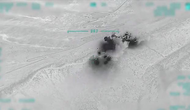 Pençe-Kartal Operasyonu başladı, teröristlere ait 81 hedef imha edildi