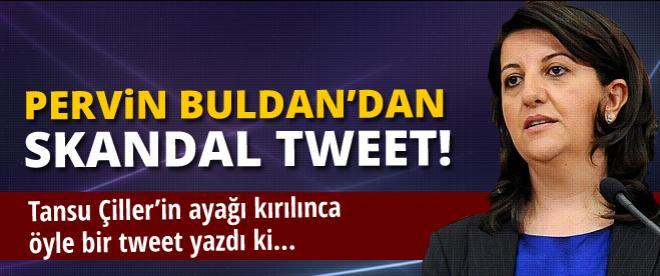 Pervin Buldan'dan skandal tweet