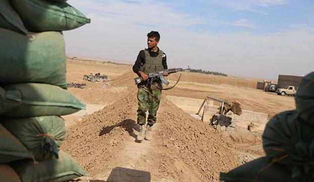 Türkmen bölgesine Peşmerge yığınağı