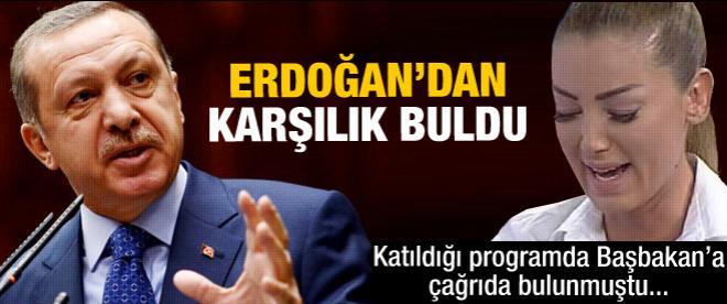 Erdoğan'dan Petek Dinçöz'e yanıt geldi