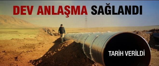 Irak petrolü yılbaşında geliyor