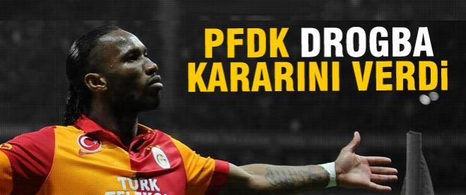 PFDK Drogba ve Eboue kararını açıkladı