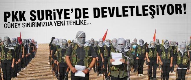 PYD Suriye'de devlet kuruyor