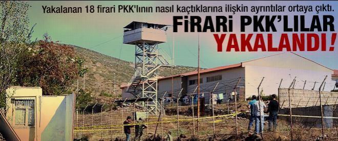 18 firari PKK'lı yakalandı
