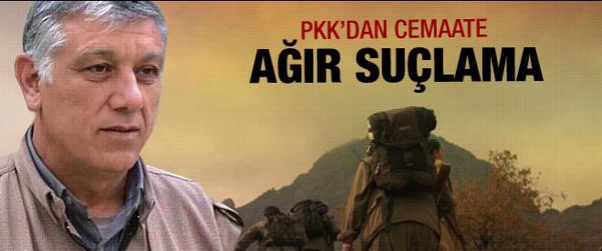 PKK'dan cemaate suçlama