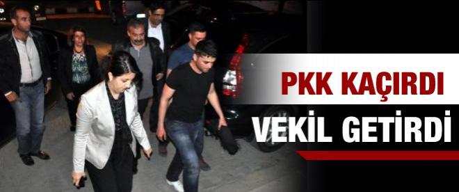 PKK kaçırdı Vekiller getirdi!