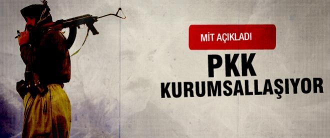 MİT açıkladı: PKK kurumsallaşıyor