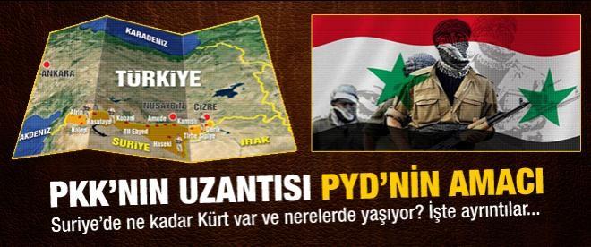 İşte PKK'nın uzantısı PYD'nin hedefi