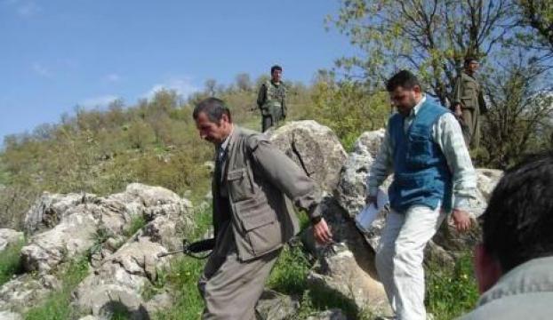 PKKlı Feyman Hüseyin Irakta ortaya çıktı