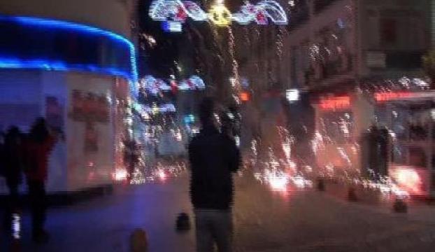Polis Kadıköyde göstericilere müdahale etti