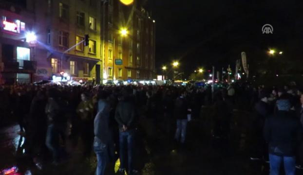 Kadıköy ve Beşiktaşta protesto!