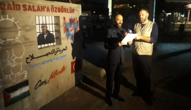 İsrailin İstanbul Başkonsolosluğu önünde protesto