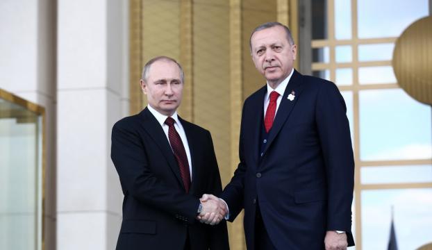 Rusya Federasyonu Devlet Başkanı Putin Ankarada