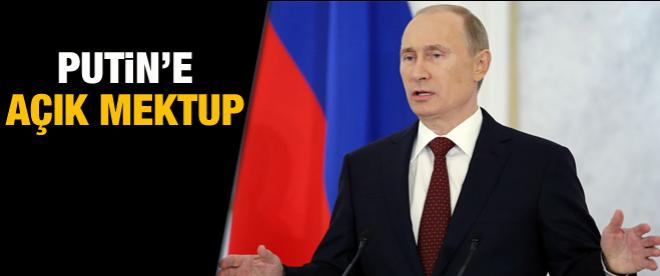 Putin'e açık mektup