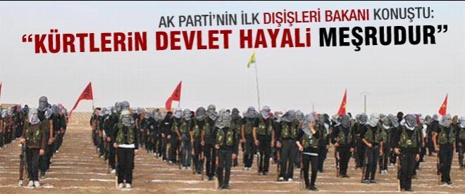 """Yaşar Yakış: """"Kürtlerin devlet hayali meşrudur"""""""