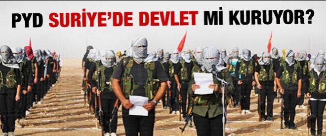 PYD Suriye'de devlet mi kuracak?