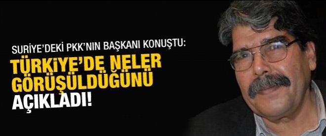 PYD Başkanı'ndan Türkiye açıklaması
