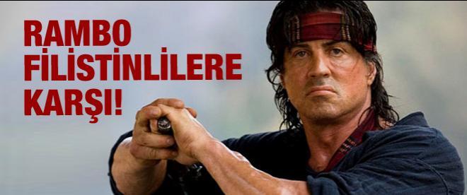Rambo İsrail hayranı çıktı