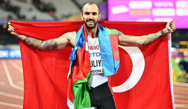 """Ramil Guliyev """"yılın erkek atleti"""" ödülüne aday"""
