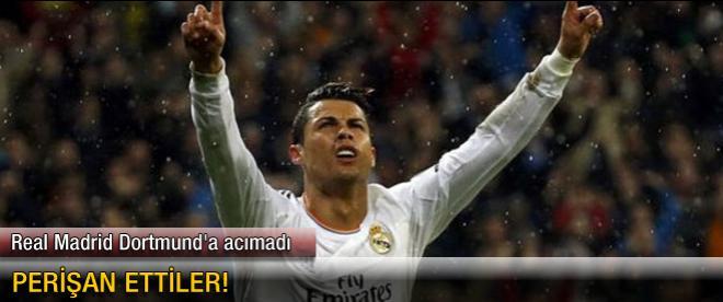Real Madrid Dortmund'a acımadı