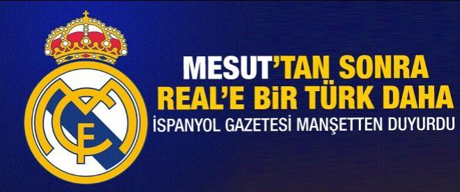 Real Madrid'de bir Türk daha
