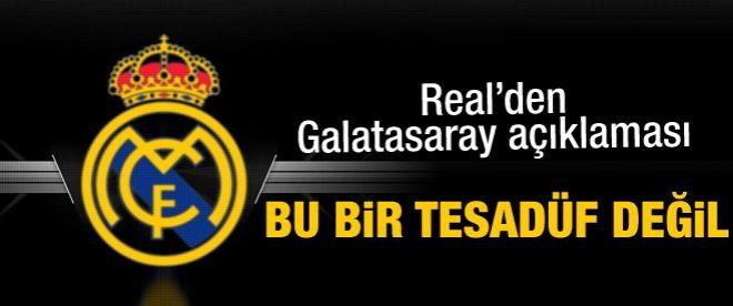 Real'den Galatasaray'a büyük övgü
