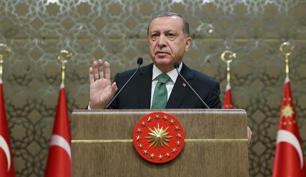 Cumhurbaşkanı Erdoğan: Suriyenin kuzeyinde sözde devlet asla kurdurmayız