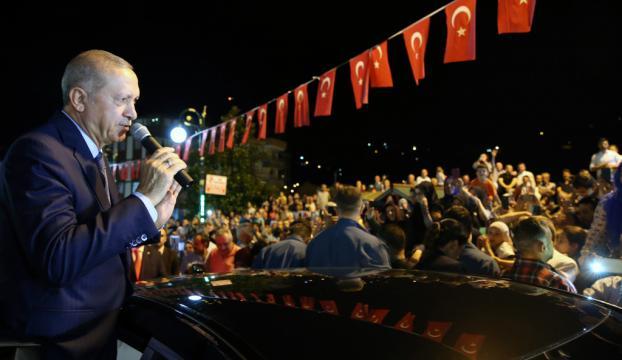 """Cumhurbaşkanı Erdoğan: """"Onların doları varsa bizim de Allahımız var"""""""