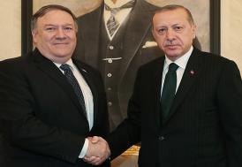 Erdoğan, ABD Dışişleri Bakanı'yla görüştü