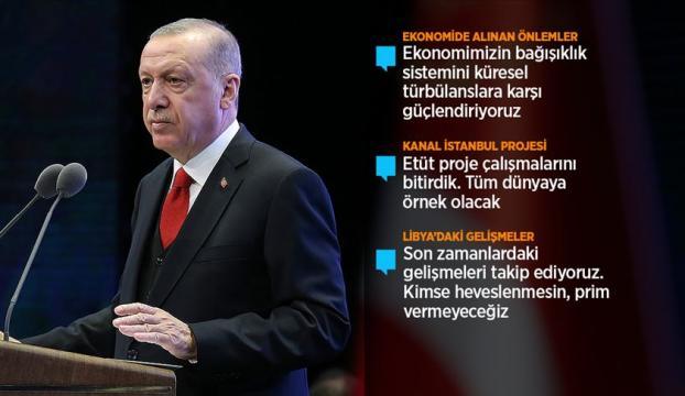 Cumhurbaşkanı Erdoğan: Türkiye krizlere karşı daha etkin refleksler verebilme imkanına kavuştu