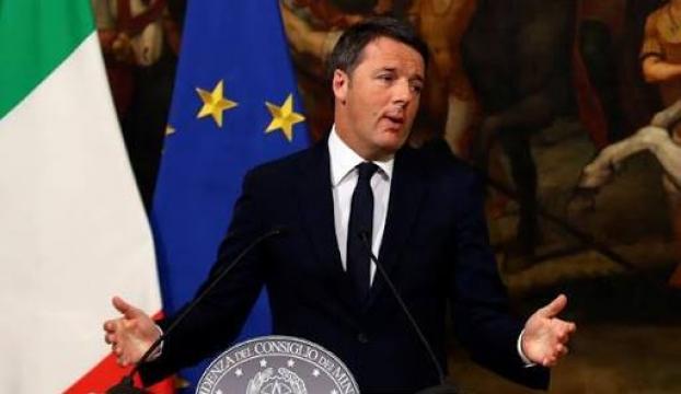 İtalyada Başbakan Renziden istifa kararı