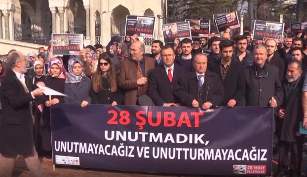 """28 Şubat yıldönümünde """"Fotoğraf Sergisi"""" ile hatırlatıldı"""