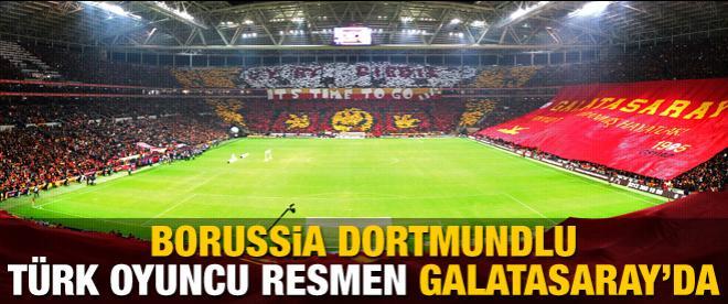 Resmen Galatasaray'da
