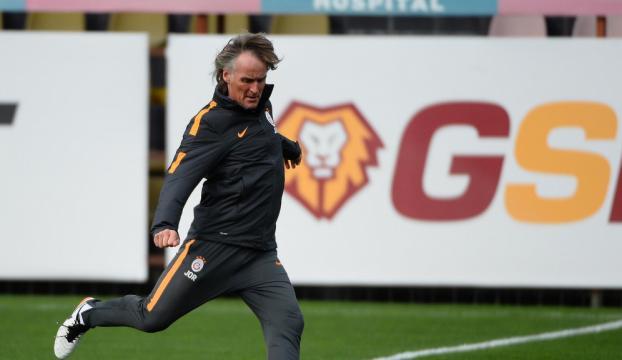 Galatasaray Medipol Başakşehir maçının hazırlıklarını sürdürdü